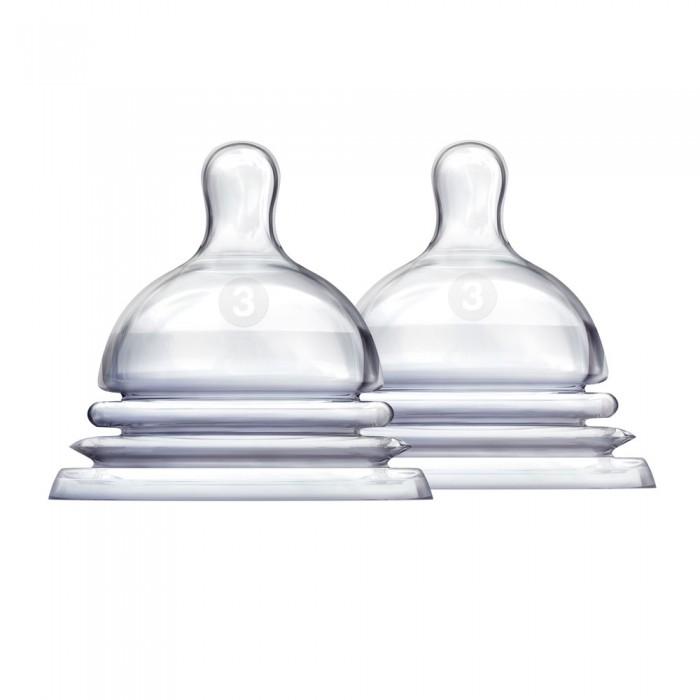 Соска Munchkin Latch силиконовая 6+ 2 шт.Latch силиконовая 6+ 2 шт.Соска силиконовая для бутылочки Munchkin Latch 6+  Особое гибкое основание соски, напоминающее гармошку, позволяет держать бутылочку под углом, при этом ребенок комфортно себя чувствует во время кормления даже при смене положения тела. Широкое основание и форма соски обеспечивает правильный захват соски ребенком, что препятствует заглатыванию воздуха и снижает вероятность возникновения коликов.  соски Latch размера 2 и 3 (3+ мес. и 6+ мес.) позволяют постепенно увеличить поток по мере роста малыша соска обеспечивает максимально естественное кормление, приближенное к грудному подходят для мытья в верхней части посудомоечной машины в комплекте 2 штуки<br>