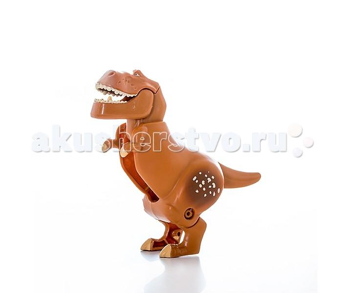 EggStars Яйцо-трансформер БурЯйцо-трансформер БурОдин из героев популярного у детей мультфильма «Хороший динозавр» на этот раз предстал в виде необычной игрушки – яйца-трансформера.   Пластиковая фигурка тираннозавра Бура в несколько простых шагов преобразуется в компактное яйцо и также легко разбирается обратно в фигурку. Игрушка научит ребенка логически мыслить, развивает мелкую моторику, ловкость пальчиков, тренирует память.   Благодаря небольшим размерам игрушки, её удобно брать с собой в гости или на прогулку, она легкая и прочная, ярко окрашена и выглядит очень симпатично.   Это оригинальный и полезный подарок для ребенка дошкольного и младшего школьного возраста, который несомненно порадует юных поклонников добрых и красочных Диснеевских мультфильмов.<br>