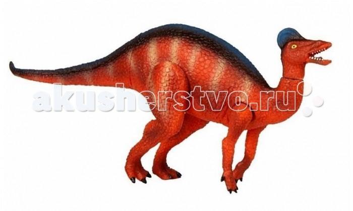 Geoworld Фигурка Jurassic Action Динозавр - КоритозаврФигурка Jurassic Action Динозавр - КоритозаврФигурка коритозавра очень правдоподобно и реалистично выполнена. У нее подвижны ноги и голова, что делает ее не только коллекционной, но и игровой фигуркой. Вместе с ней в коробке вы найдете карточку динозавра, описывающую уникальные характеристики коритозавра. Интересных фактов об этом ящере добавит и буклет, также входящий в набор. Фигурка входит в серию Jurassic Action, состоящую из 24 наборов с разными динозаврами. Соберите их всех! В наборе найдется и диорама, складывающаяся из коробки и показывающая доисторический ландшафт, по которому мог бы гулять коритозавр. Наборы Geoworld разрабатываются под тщательным руководством ученых-палеонтологов, поэтому, покупая игрушку этого бренда, вы можете быть уверены, что приобретаете качественную вещь с самой точной сопровождающей ее научной информацией.  Комплект:   Подвижная фигурка динозавра;  Лифлет с научной информацией; Диорама; Карточка.   Основные характеристики:  Размер упаковки: 33 x 23 x 11 см<br>