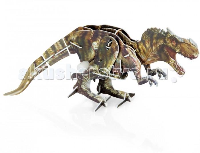 Конструктор UF Заводной 3D-пазл Тираннозавр