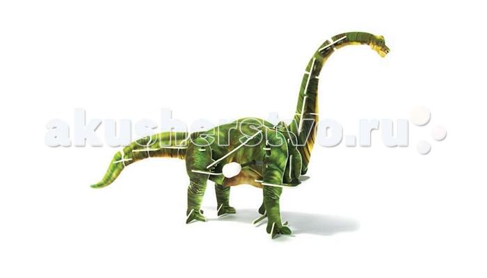 Конструктор UF Заводной 3D-пазл Брахиозавр