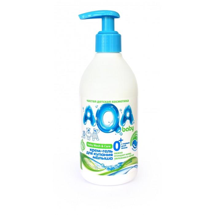 AQA baby Крем-гель для купания малыша 300 мл
