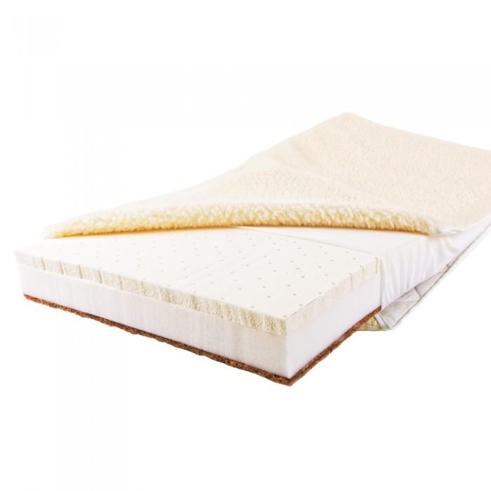 Матрас Babysleep класса Люкс BioLatex Bamboo 125x65класса Люкс BioLatex Bamboo 125x65Уникальный детский матрас двусторонней жесткости. Экологически чистый, так как при производстве не используются клеевые материалы.  Описание:  - Жесткая сторона состоит из 100% натурального материала – кокосового волокна (кокосовая плита от Enkev, Голландия) с латексной пропиткой - это увеличивает долговечность и придает детскому матрасу пружинящие свойства; отличается гигиеничностью, антиаллергенностью и естественной вентиляцией.  - Основа матраса – это блок Naturalform (производство GommaGomma, Италия) – обладает особой пористой внутренней структурой, благодаря чему прекрасно пропускает воздух.  - Мягкая сторона - латексная плита производства итальянской фабрики «Ecolatex». Эластичная, мягкая и гипоаллергенная, латексная пена оптимально адаптируется к форме тела и головы человека, производится из млечного сока бразильской гевеи. Это идеальный материал для здорового и естественного сна, благодаря присутствию в структуре воздушных микро-сот, сообщающихся между собой и обеспечивающих отличную внутреннюю вентиляцию, гигиеничность и поддержание стабильного температурного фона.  Уникальные чехлы: внутренний и внешний:  Внутренний чехол (100% натуральный хлопок) надежно фиксирует компоненты детского матраса BabySleep «BioForm Bamboo», увеличивает срок его службы и позволяет комфортно использовать внешний чехол, без риска деформации матраса;  Внешний чехол с 3-сторонней молнией и удобными сторонами зима – лето: ЛЕТО - «Lino» высококачественная ткань итальянской фабрики «Stellini». Лен наиболее древний текстиль растительного происхождения, за его уникальные свойства лен называют золотом текстиля, так как в процессе использования не желтеет и не стареет. Волокно льна имеет прекрасные потребительские свойства: в 3 раза прочнее хлопка, устойчив к воздействию солнечного света, хорошо впитывает влагу и быстро ее отдает (высыхает). Лен - это чистота, нежность, надежность, комфорт и престиж..  ЗИ