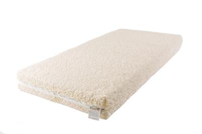Матрац Babysleep класса Люкс BioLatex Cotton 120x60класса Люкс BioLatex Cotton 120x60Экологически чистый матрас для новорожденных двусторонней жесткости. Не имеет аналогов на российском рынке, отличается полным отсутствием в производстве клеевых материалов.  Жесткая  сторона -  100% натуральный материал,  кокосовая плита производства концерна ENKEV (Голландия),  с полной латексной пропиткой, прочно скрепляющей кокосовые  волокна,  увеличивающей  долговечность  и придающей  пружинящие свойства. Обладает естественной вентиляцией,   гигиеничностью  и антиаллергенностью.    Обеспечивает матрасу жесткость и долгий срок эксплуатации.   Основа матраса: блок  «Naturalform»,  производства итальянской фабрики «GommaGomma: материал,  имеющий специфическую пористую внутреннюю структуру, обладающий отличной воздухопроводимостью  и гигиеничностью, отсутствием избыточной влажности и вредных микроорганизмов.    Мягкая сторона -  латексная плита производства итальянской фабрики «Ecolatex».  Эластичная,  мягкая и гипоаллергенная, латексная пена оптимально  адаптируется к форме тела и головы человека,  производится  из  млечного  сока бразильской гевеи.  Это идеальный материал для  здорового и естественного сна, благодаря  присутствию в структуре   воздушных  микро-сот,  сообщающихся между собой и обеспечивающих отличную    внутреннюю вентиляцию, гигиеничность и поддержание стабильного температурного фона.  Уникальные двойные чехлы являются отличительной особенностью матрасов «BabySleep».   Внутренний чехол из 100 % хлопка, фиксирующий компоненты матраса, увеличивает срок эксплуатации, позволяет безопасно снимать и надевать внешний чехол, без малейшего риска деформации или нарушения состава матраса, был специально разработан для компании «BabySleep». Внешний чехол имеет трехстороннюю молнию, позволяющую максимально быстро и легко переворачивать чехол на любую сторону жесткости. Отличается повышенной комфортностью, благодаря функции «зима-лето».  Сторона «лето» -  «Lino» высококачестве