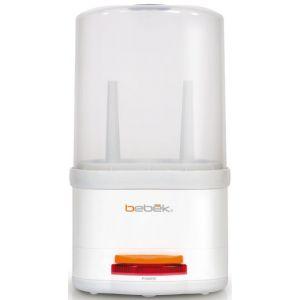 Bebek Стерилизатор для бутылочекСтерилизатор для бутылочекСтерилизатор для бутылочек.  Не содержит Бисфенол-А. Стерилизация до 2-х бутылочек одновременно с принадлежностями. Нагревательная поверхность из нержавеющей стали.  Напряжение 110V и 220V.  Размер упаковки: 17x19x33 см<br>
