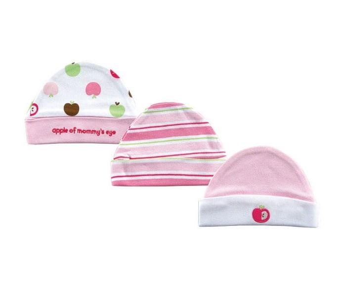 Шапочки и шарфы Hudson Baby комплект шапочек Яблоко 3 шт. 55-67