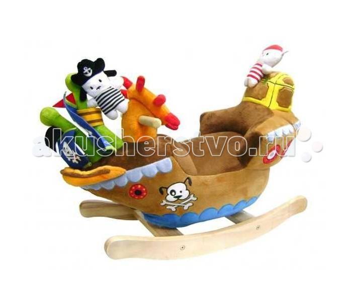 Качалка Felice Корабль с пиратами