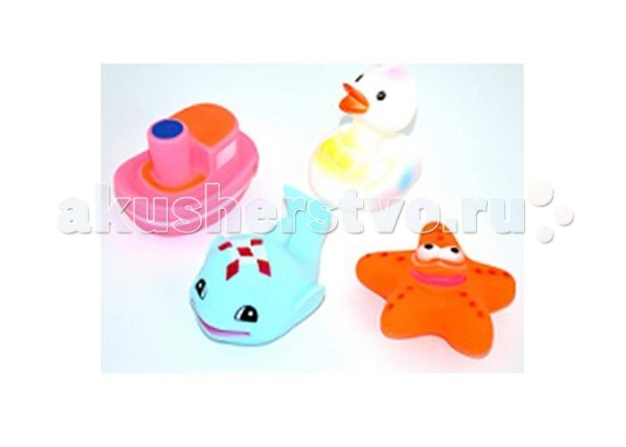 Бусинка Игрушки для купания На воде 4 шт.Игрушки для купания На воде 4 шт.Бусинка Игрушки для купания На воде 4 шт.  Игрушки в ванной сделают процесс купания не только интересным, но также и развивающим.  Яркие, приятные на ощупь игрушки. При сжатии пищат.   Ведь такие игрушки развивают слух, зрение, логическое мышление и мелкую моторику пальцев.  Для изготовления игрушек для купания используются гипоаллергенные, экологически чистые материалы, поэтому вам не нужно беспокоиться о здоровье малыша.<br>