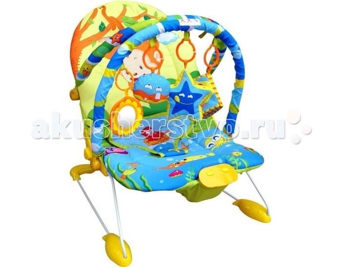 Кресла-качалки, шезлонги La-di-da (MAPA baby) Шезлонг Обезьянка 90028BR(90008-3)/25996