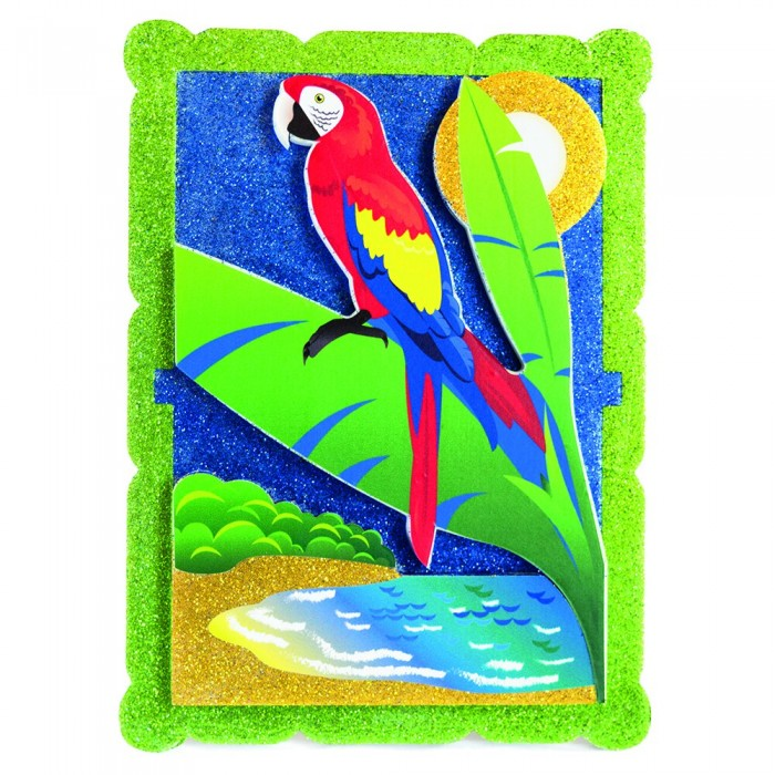 Pic`n Mix Аппликация Попугай в тропиках