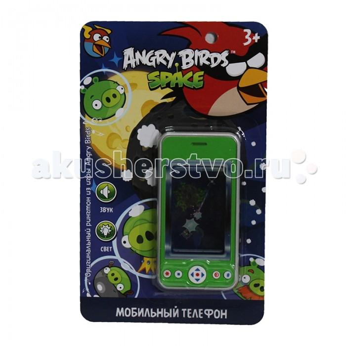 1 Toy Детский мобильный телефон Angry Birds Т55642