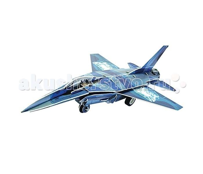 Конструктор IQ 3D Пазл Истребитель F-16 инерционный 42 элемента3D Пазл Истребитель F-16 инерционный 42 элементаIQ 3D Пазл Истребитель F-16 инерционный 42 элемента FT20004  С помощью объемного пазла-конструктора ребенок сможет собрать интересную игрушку - модель военного истребителя. Конструктор состоит из ярких, хорошо прорисованных пластиковых деталей и просто собирается без клея и специальных инструментов - малыш сможет справиться и без помощи взрослых. А когда пазл будет собран, установите на него инерционный мотор и подвижную колесную ось - пазл превратится в замечательную игрушку, изготовленную своими руками.  Размер готовой игрушки: 15 см.<br>