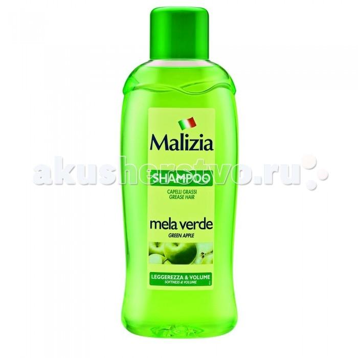 Malizia Шампунь для жирных волос Fresca Vitalita  Яблоко 1л