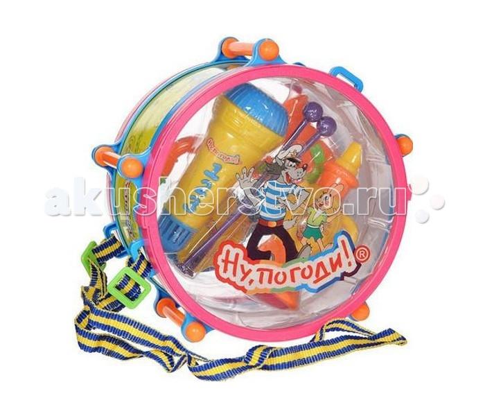 Музыкальная игрушка 1 Toy Набор музыкальных инструментов Ну, погоди!