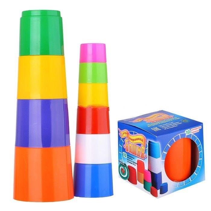 Развивающая игрушка Спектр Игра Пирамида Башня 10 эл.