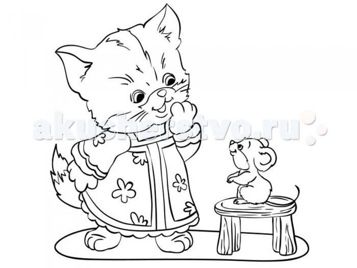 Раскраска Color Puppy Роспись по холсту Котенок 15 х 15 см