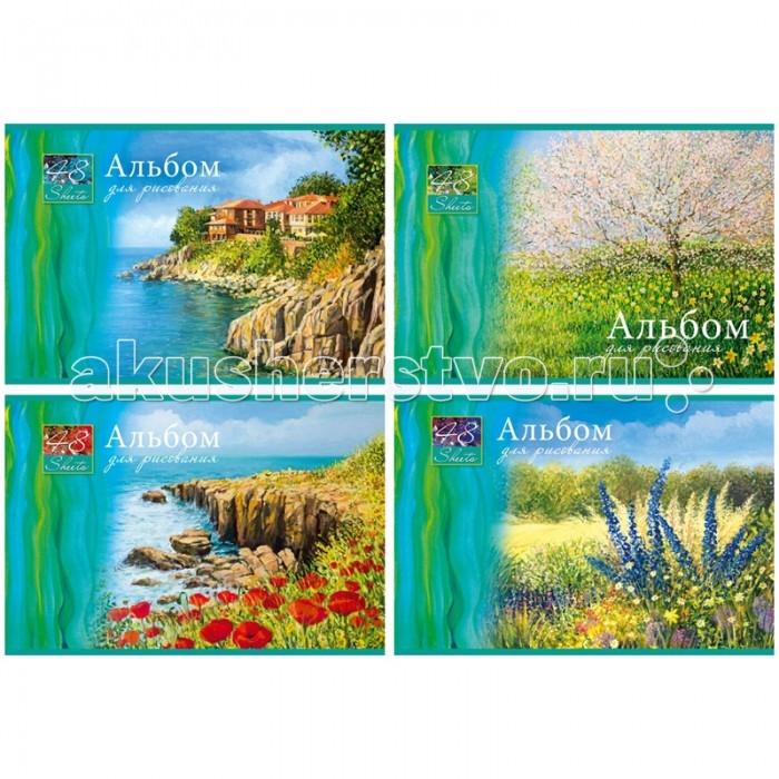 БиДжи Альбом для рисования Fine Landscape на гребне А4 (48 листов)Альбом для рисования Fine Landscape на гребне А4 (48 листов)Альбом для рисования Fine Landscape на гребне, в формате А-4. Обложка - мелованный картон. Внутренний блок - офсетный. 48 листов.  Основные характеристики:  Размер упаковки: 30 x 22 x 1 см Вес: 0,317 кг<br>