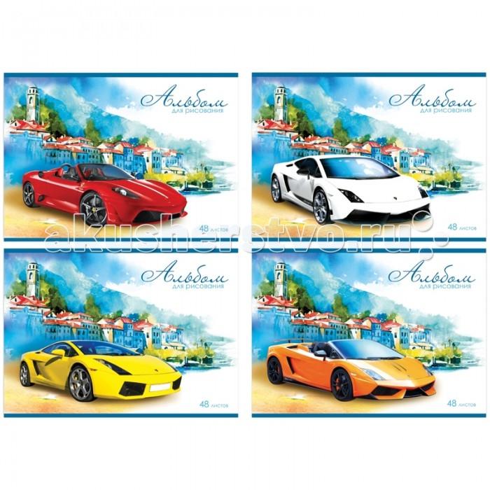 БиДжи Альбом для рисования Italiano auto на гребне А4 (48 листов)Альбом для рисования Italiano auto на гребне А4 (48 листов)Альбом для рисования Italiano auto на гребне, в формате А-4. Обложка - мелованный картон. Внутренний блок - офсетный. 48 листов.  Основные характеристики:  Размер упаковки: 29 x 20 x 0,5 см Вес: 0,331 кг<br>