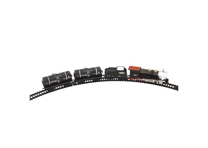 1 Toy Железная дорога Восточный Экспресс Т54439 320 смЖелезная дорога Восточный Экспресс Т54439 320 см1 Toy Железная дорога Восточный Экспресс Т54439 320 см - это хорошо проработанная детская игрушка.   Особенности: Модель оснащена звуковыми и световыми эффектами, что приближает к настоящей модели.  Железная дорога сделана из прочного и гибкого материала, что позволяет легко собрать модель.  Железная дорога сможет украсить комнату ребенка.  Игрушка привлекает внимание ребенка.  Комплект: паровоз, 3 вагона и рельсы, по которым поезд сможет передвигаться. Длина полотна: 320 см. Ширина колеи: 3.5 см.<br>