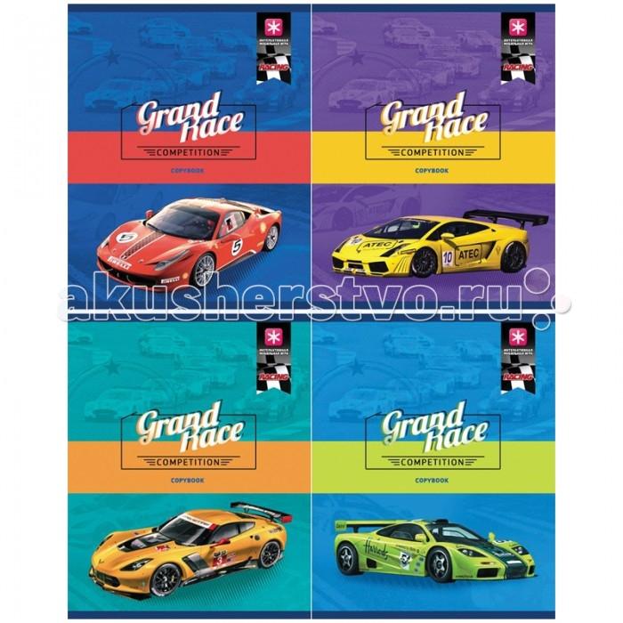 БиДжи Тетрадь Racing Матовая ламинация А5 (48 листов)