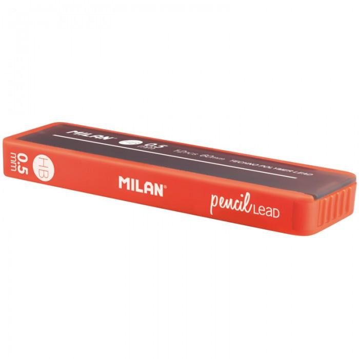 Milan Грифели для механических карандашей 0.5 мм HB софттач