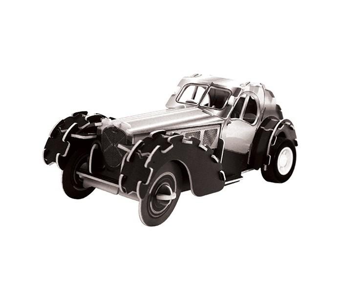 Конструктор IQ 3D Пазл Ретро автомобиль 57SC Coupe инерционный 26 элементов3D Пазл Ретро автомобиль 57SC Coupe инерционный 26 элементовIQ 3D Пазл Ретро автомобиль 57SC Coupe инерционный 26 элементов FT20009  Ретро автомобиль от компании IQ 3D Puzzle - это пазл, собрав который, у ребенка появится элегантная игрушка. Собирать пазл достаточно просто, ведь для этого не требуется клей и прочие составляющие, детали и без этого отлично закрепляются. Готовый автомобиль будет обладать инерционным механизмом, так как в комплекте имеется специальный моторчик, который вставляется во время сборки.<br>