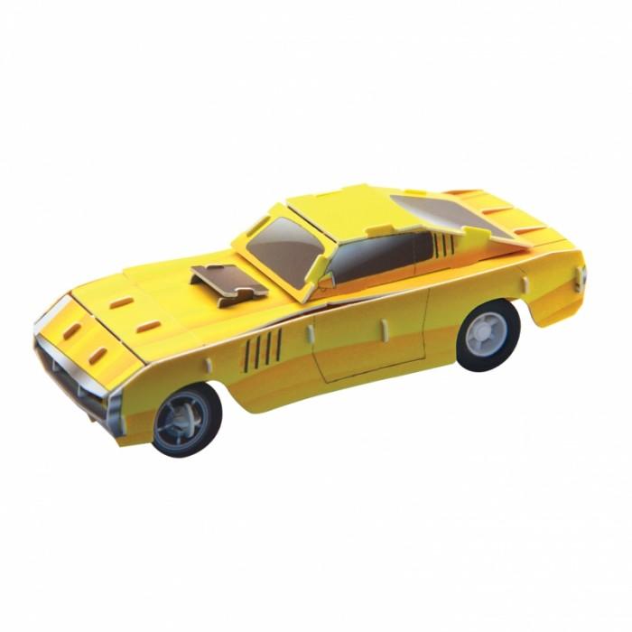 Конструктор IQ 3D Пазл Желтый гоночный автомобиль инерционный 29 элементов3D Пазл Желтый гоночный автомобиль инерционный 29 элементовIQ 3D Пазл Желтый гоночный автомобиль инерционный 29 элементов FT20014  Гоночный автомобиль от компании IQ 3D Puzzle - это замечательный пазл, сборка которого не вызовет у ребенка никаких проблем. Собрав все элементы воедино, малыш получит отличную игрушку, обладающую инерционным моторчиком. Машинка покатится вперед, если отвести ее назад - вот и весь принцип работы инерционного механизма.  Длина собранной машинки: 10.5 см.<br>