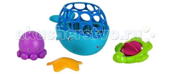 Oball Игрушки для ванны Морские друзьяИгрушки для ванны Морские друзьяOball Игрушки для ванны Морские друзья 10068  Специальный набор для ванны Морские друзья от компании Oball подарит ребенку настоящее удовольствие во время купания.  В комплекте можно найти 4 разноцветные игрушки, сделанные из высококачественного пластика.  Мягкие на ощупь, яркие, они не только занимают внимание малыша, но еще и выполняют полезную функцию.  Фигурка кита служит ковшом, а остальные помогают развитию мелкой моторики ребенка.  Размер товара:  Размер кита: 16 х 11.5 х 10.5 см. Размер осьминога: 6.5 х 7 х 7 см. Размер черепашки: 9.5 х 5 х 9.5 см. Размер морской звезды: 8 х 2 х 8 см.<br>