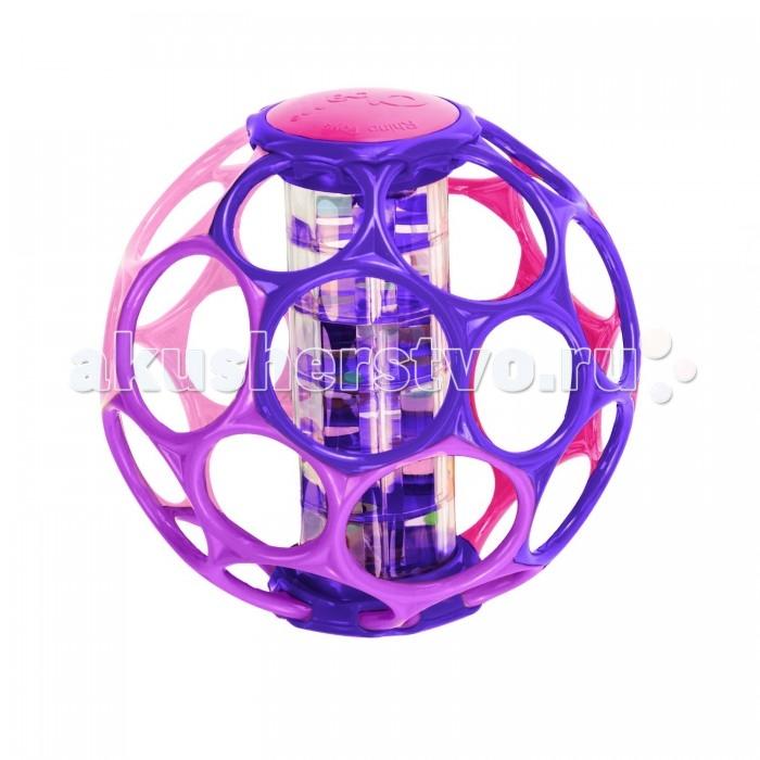 Погремушка Oball Мячик розовый