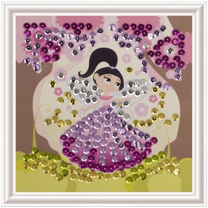 Lori Аппликация-картина из пайеток Маленькая фея