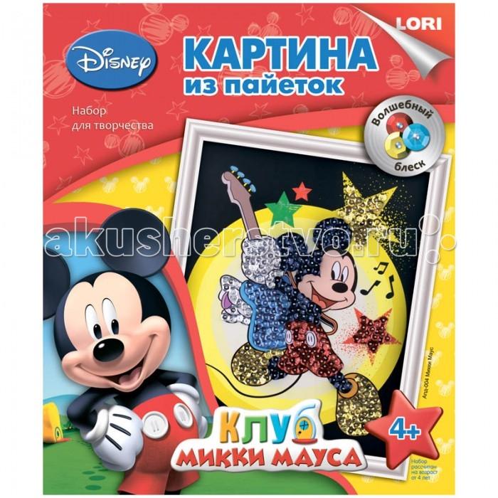 Lori Аппликация-картина из пайеток Disney Микки Маус