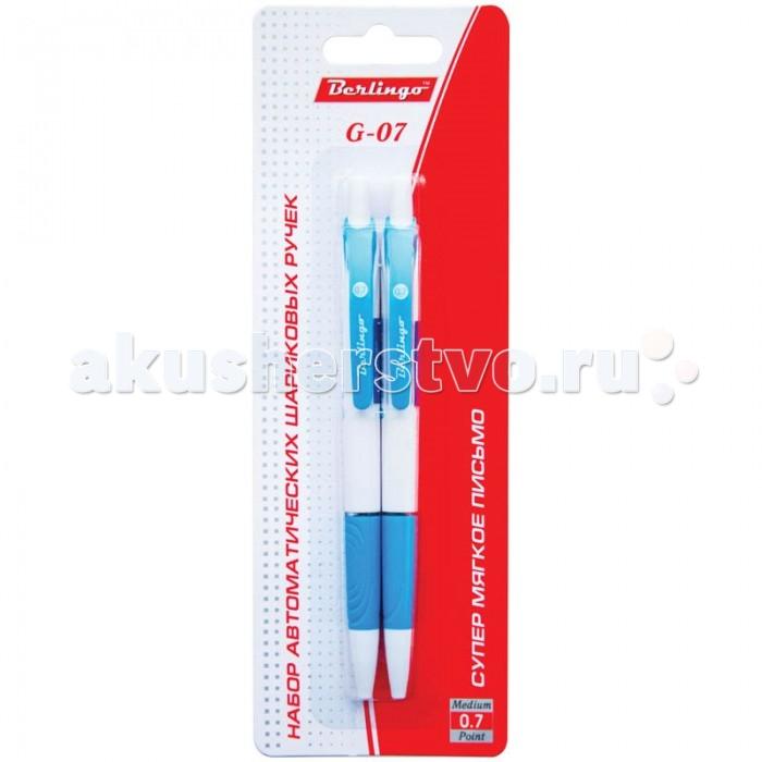 Berlingo Набор автоматических шариковых ручек G-07 цвет синий 2 шт.