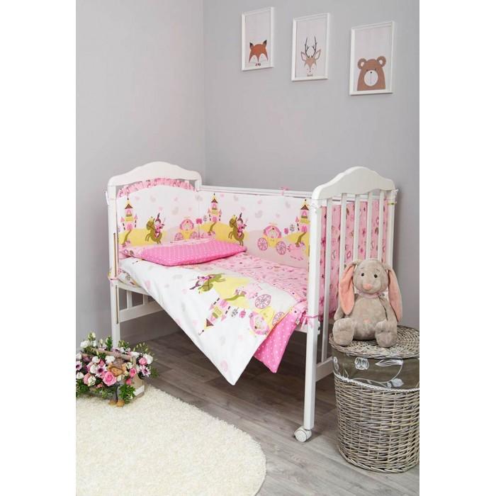 Комплект для кроватки Сонный гномик Золушка (7 предметов)