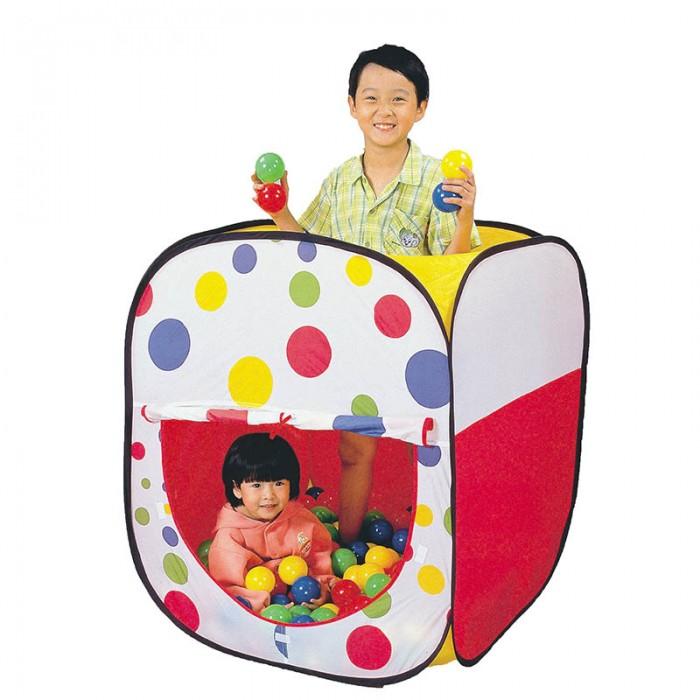 Calida Дом-палатка + 100 шаров Квадрат 833-26Дом-палатка + 100 шаров Квадрат 833-26Дом-палатка Квадрат на самораскладывающемся каркасе-спирали прекрасно подойдет для самостоятельных или групповой сюжетно-ролевых игр. Яркие разноцветные шары не оставят без внимания вашего непоседу.  В комплекте:   палатка 100 шариков (диаметр 7 см)  Материал поливинилхлорид  Размер палатки 80х80х98h см.<br>