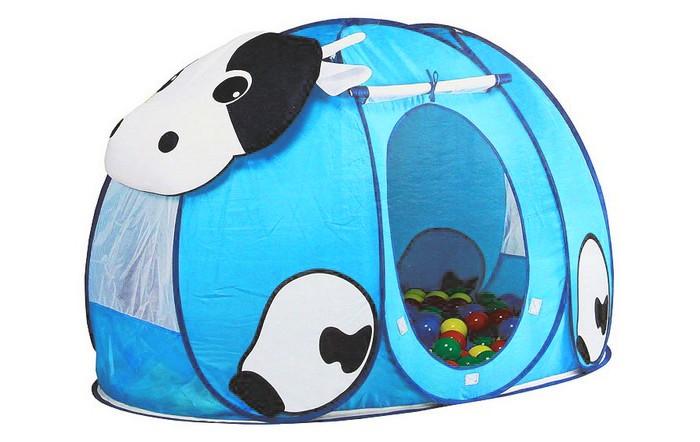 Calida Дом-палатка + 100 шаров Корова