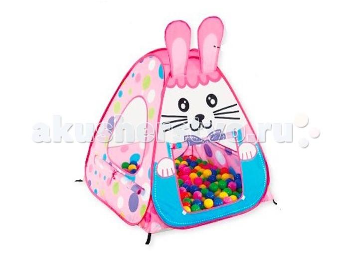 Палатки-домики Calida Дом-палатка + 100 шаров Кролик