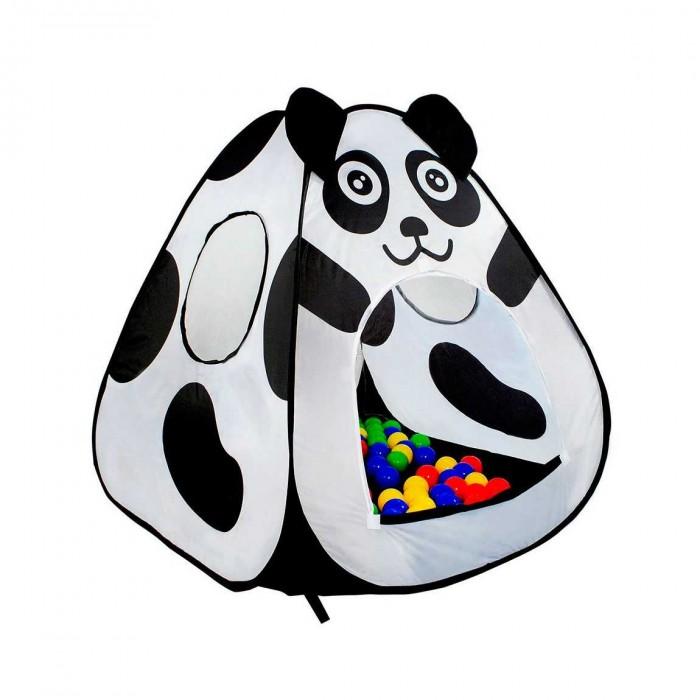 Палатки-домики Calida Дом-палатка+100 шаров Панда