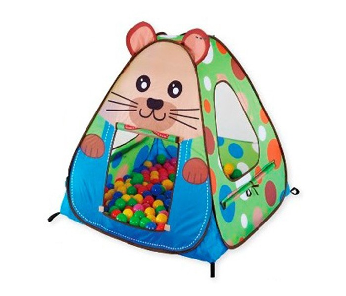 Палатки-домики Calida Дом-палатка + 100 шаров Сурок