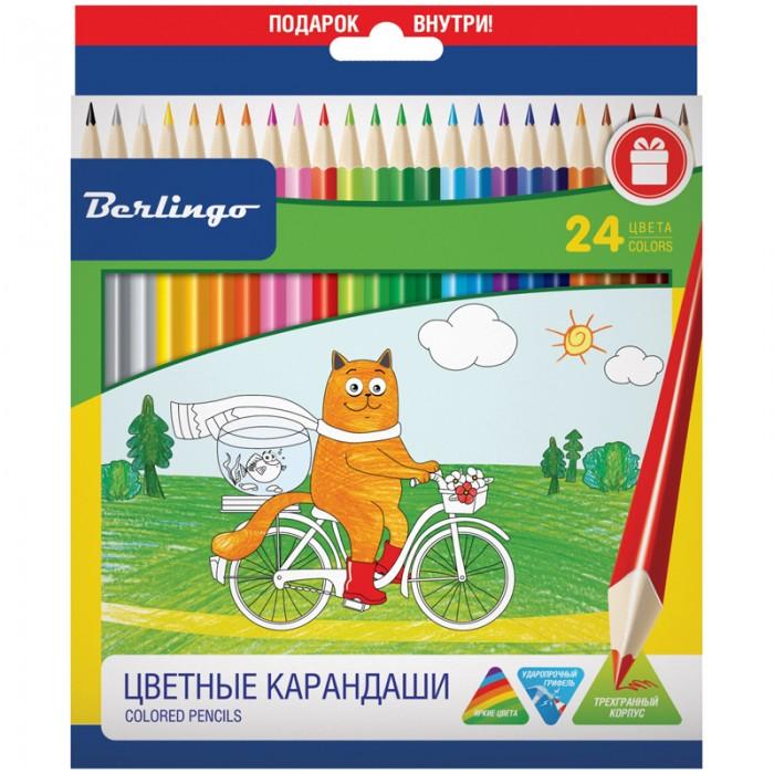 Berlingo Карандаши Жил-был кот 24 цвета