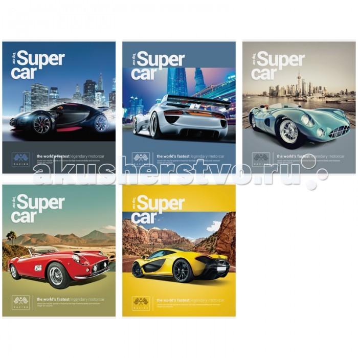 Спейс Тетрадь А5 клетка Авто Top car (40 листов)