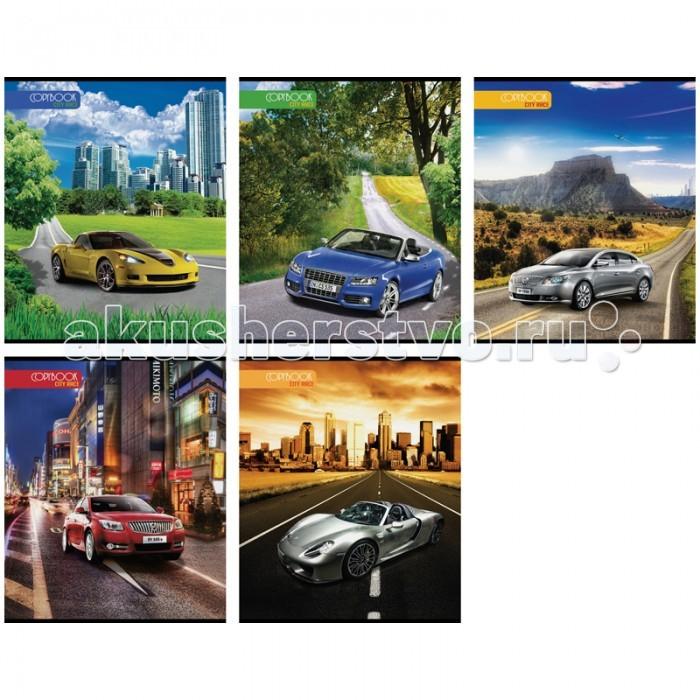 Спейс Тетрадь А5 клетка Авто City race эконом (48 листов)