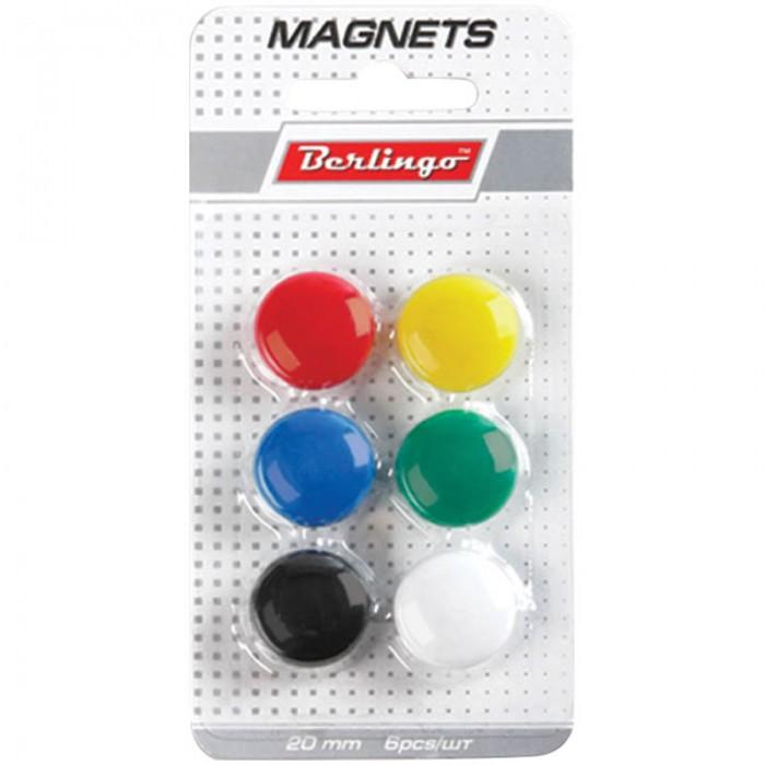Berlingo Магнит для досок 2 см 6 шт. Магнит для досок 2 см 6 шт. SMm_02010