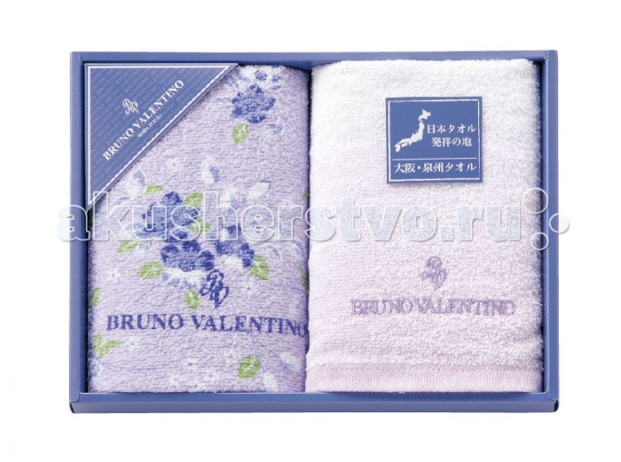 Honda Towel Набор полотенец в подарочной упаковке Bruno Valentino 34х84 см 2 шт.