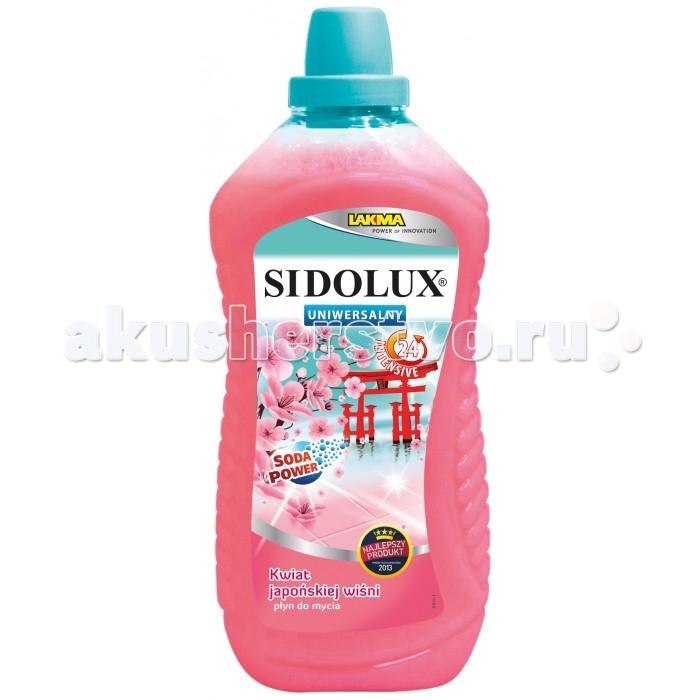 Sidolux Средство для мытья полов универсальное Цвет японской вишни 1 л