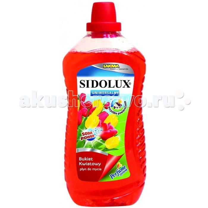 Sidolux Средство для мытья полов универсальное Цветочный букет 1 л