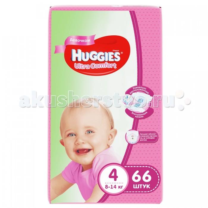 Huggies ���������� Ultra Comfort Mega ��� ������� 4 (8-14 ��) 66 ��.