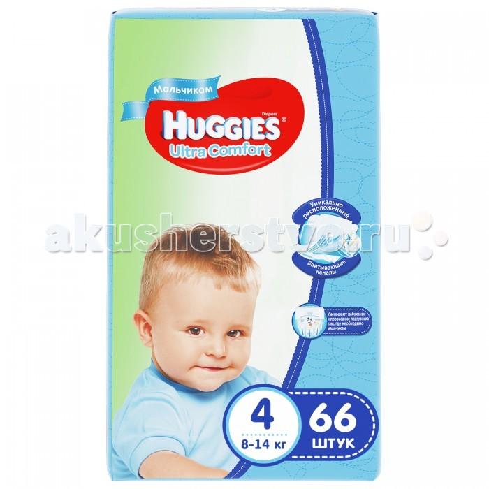 Huggies ���������� Ultra Comfort Mega ��� ��������� 4 (8-14 ��) 66 ��.