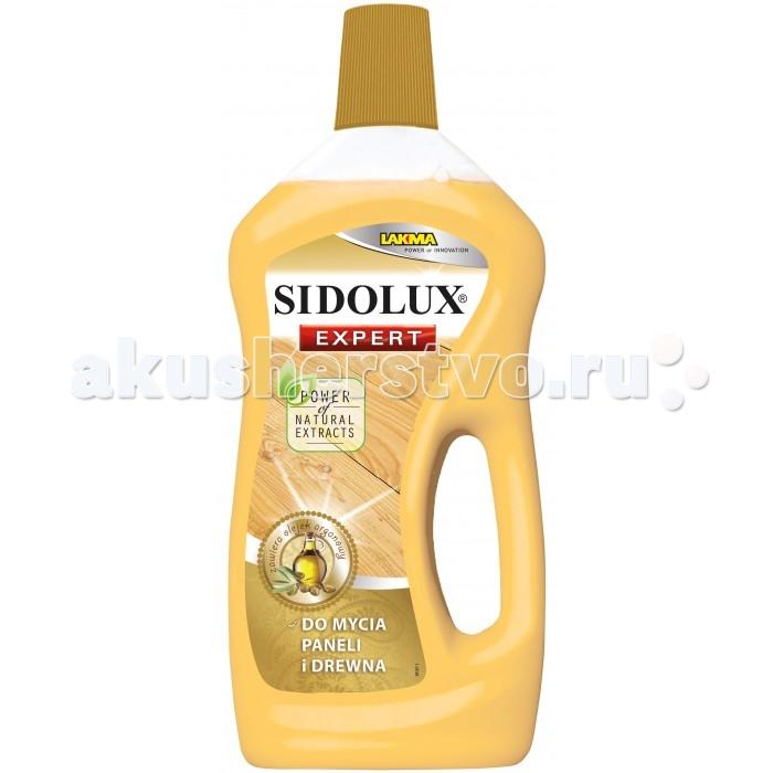 Sidolux Expert Средство для мытья ламината с аргановым маслом 750 млExpert Средство для мытья ламината с аргановым маслом 750 млСредство для мытья ламината и деревянных поверхностей с аргановым маслом. Натуральный экстракт арганового масла тщательно ухаживает и обеспечивает защиту очищаемым поверхностям, продлевая их долговечность, обеспечивает привлекательный внешний вид, усиливая глубину цвета пола.  Поскольку продукт создан специально для ухода за полами из панелей, то его применение не влияет негативно на состояние Ваших полов. Продукт защищает от нежелательного воздействия воды. Благодаря использованию специальных веществ, влага не проникает в пол во время мытья, вследствие чего тот не выпучивается.  Свойства продукта: прекрасно моет и очищает легко растирается по поверхности защищает пол от негативного влияния влаги   Способ применения: Влить 2 колпачка жидкости к 5 литрам воды. Приготовленным таким образом раствором помыть поверхность с помощью мопы или тряпочки, следя за тем, чтобы чрезмерно её не намочить.<br>
