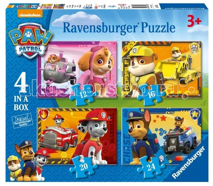 Ravensburger Пазл 4 в 1 Щенячий патруль