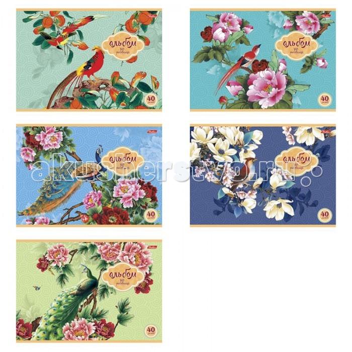 Hatber Альбом для рисования 40 листов Райский сад